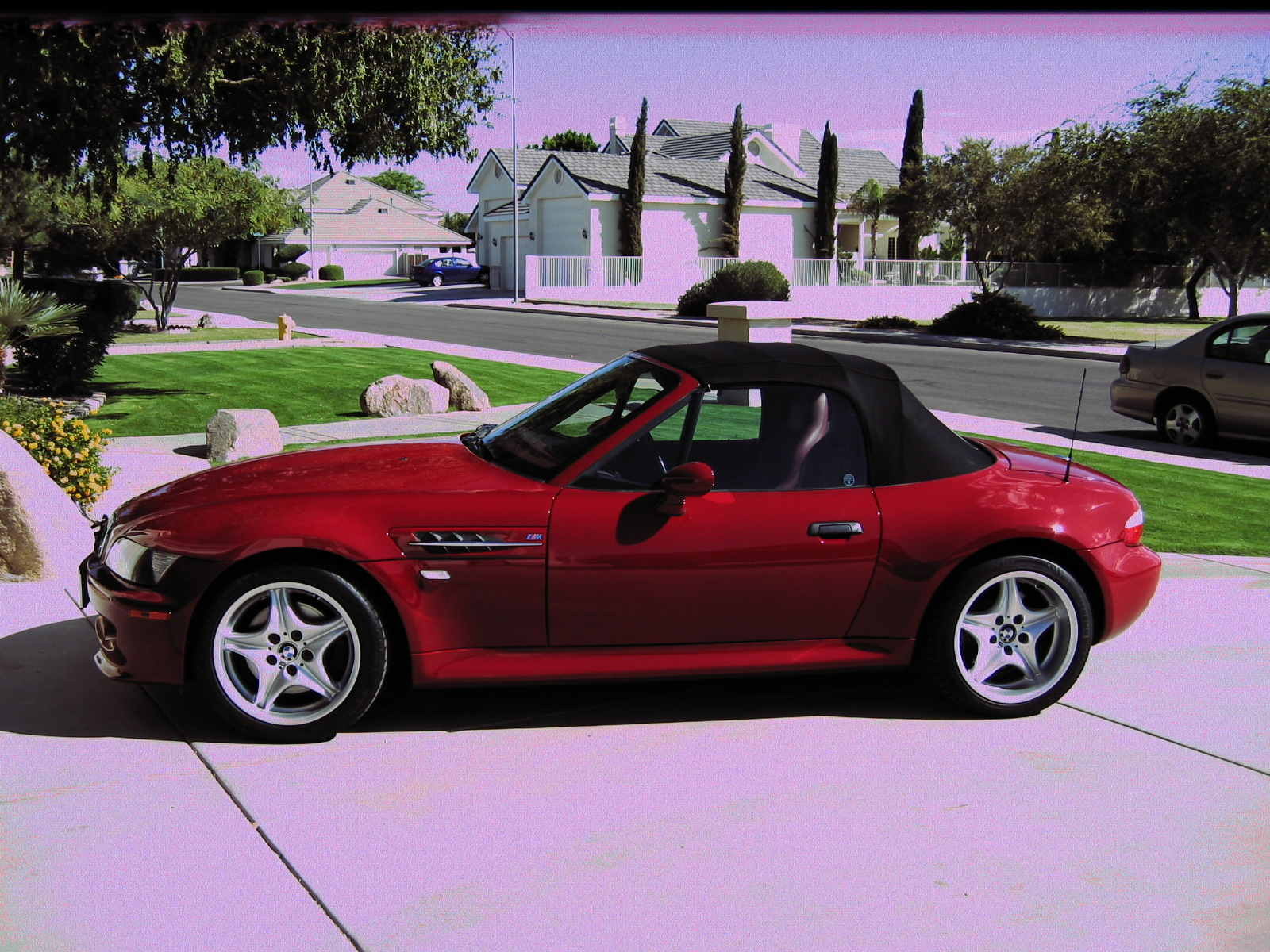 1999 Bmw M Roadster Z3 Imola Red 2dr Convertible Sold For 13 950 00 Carol Smith S Asset