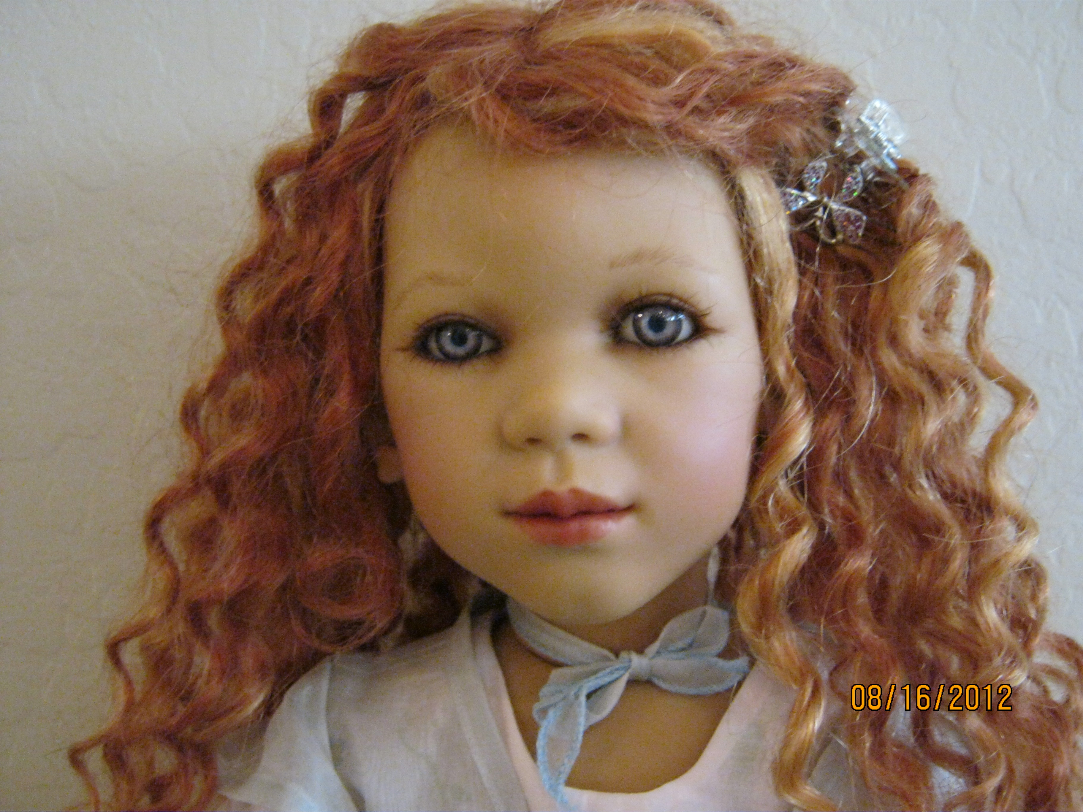 Annette Himstedt S Beautiful Krissi Ii Doll Sold For 280